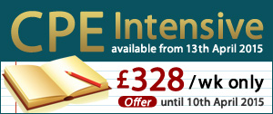CPE Intensive offer