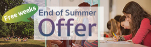 End of the Summer Offer