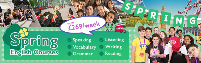 Spring English Courses in London
