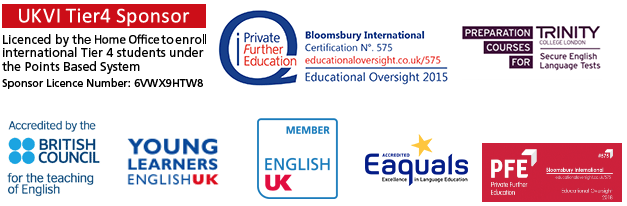 About Bloomsbury International Accreditations