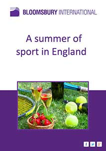 A summer of sport in England (PDF Format)