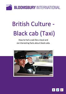 British Culture - Black Cab