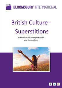 British Culture - Superstitions