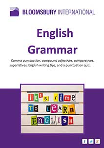 Learning English Free Book Downloads (PDF Format), English grammar pdf book cover