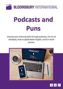 English Podcasts and Puns (PDF Format), English Podcasts and Puns