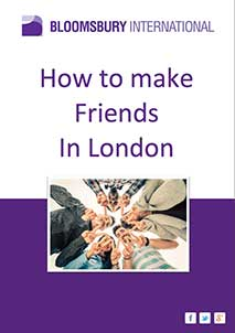 How to make friends in London