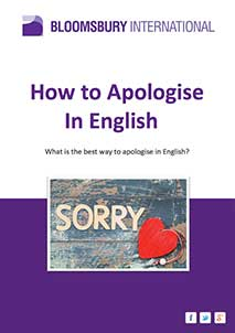 How to Apologise in English